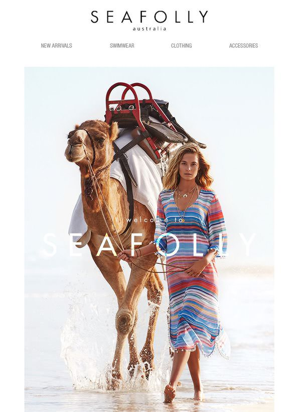 Seafolly marketing email - Agencies