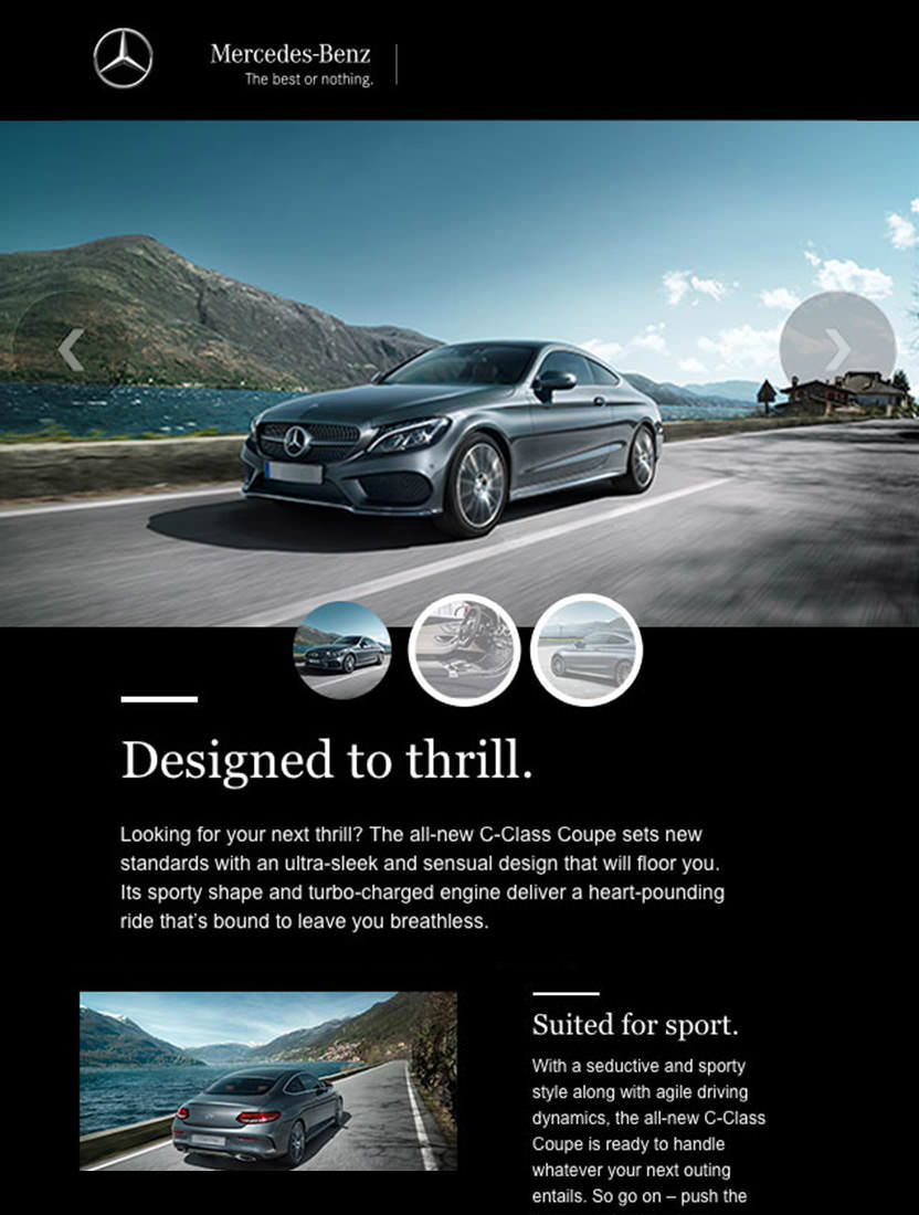 Campaign Monitor Email Marketing Customer Mercedes Benz