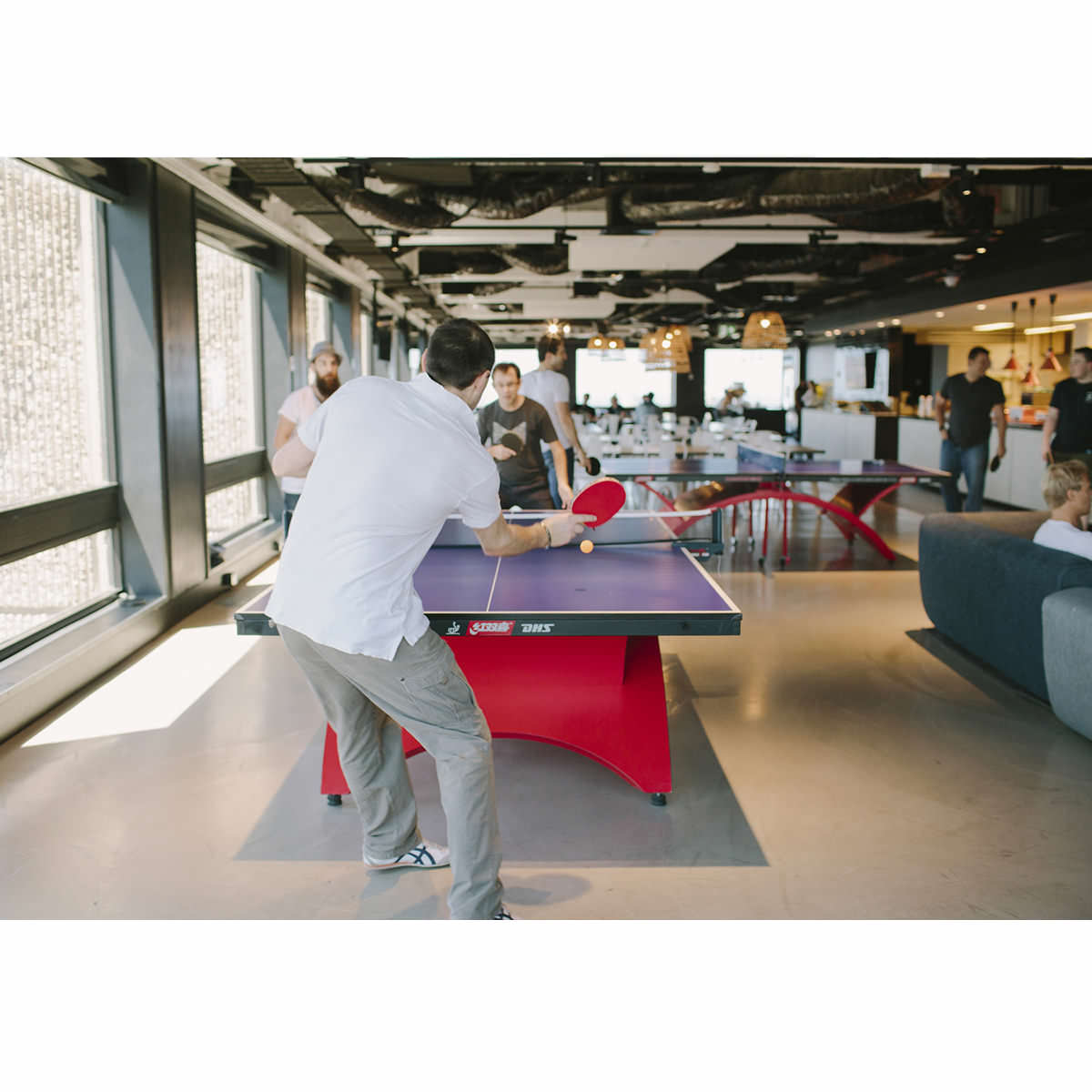 Annual Report - Giving Back - Ping Pong