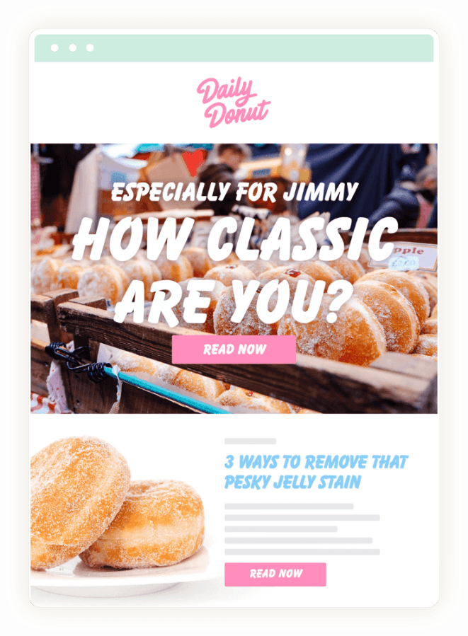 Daily Donut Newsletter