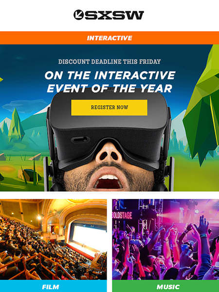 Campaign Monitor Email Marketing Customer SXSW