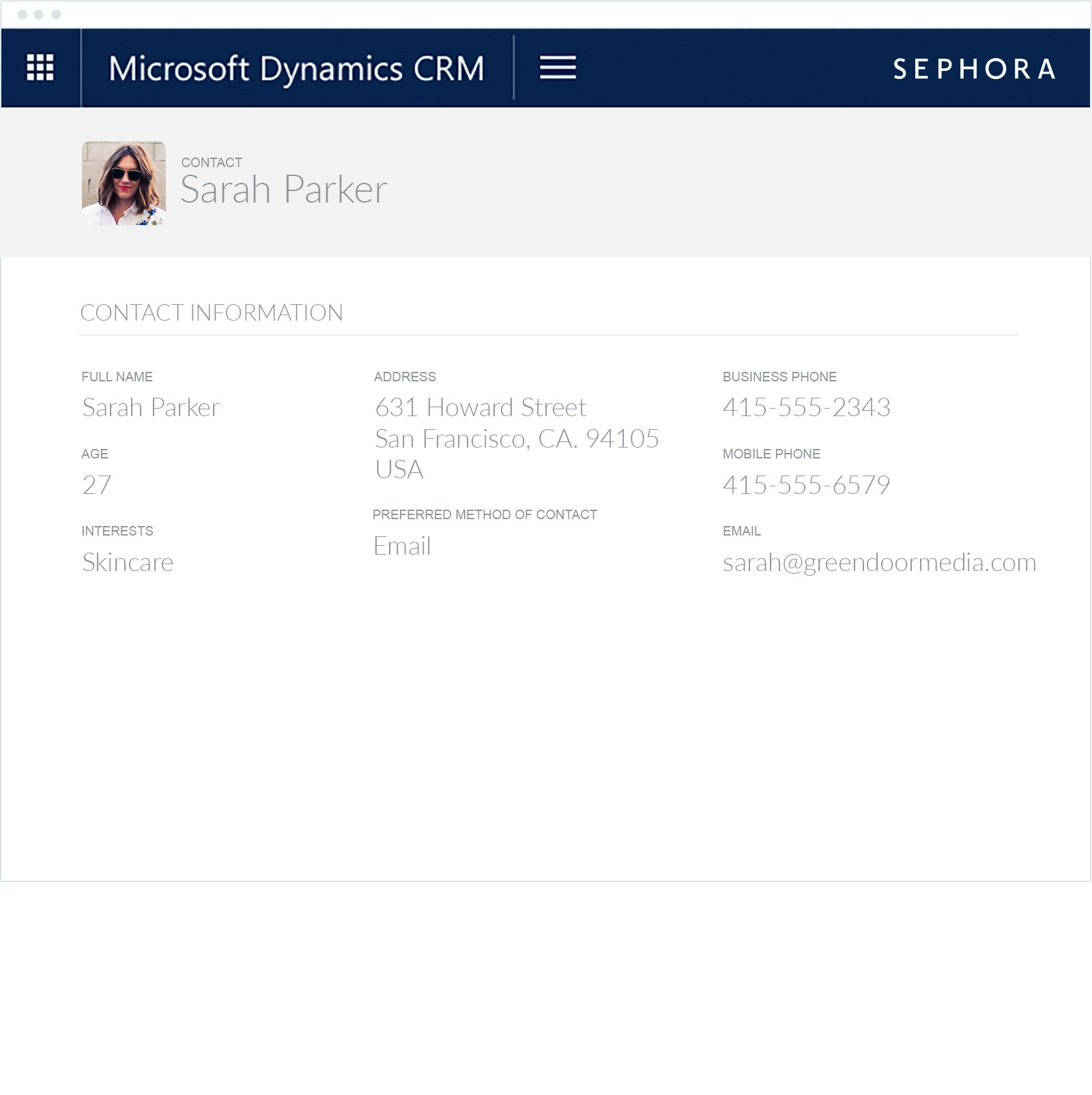 Microsoft Dynamics CRM email marketing integration