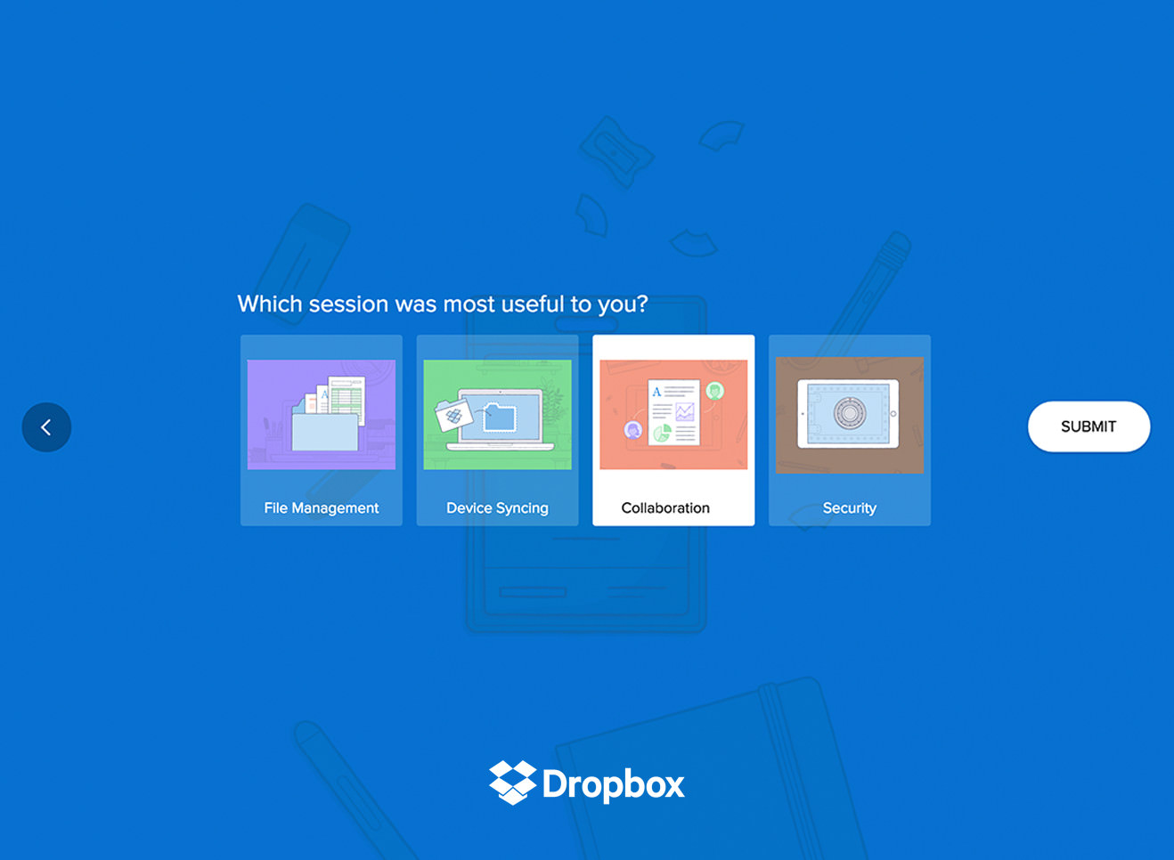 GetFeedback - Dropbox Survey