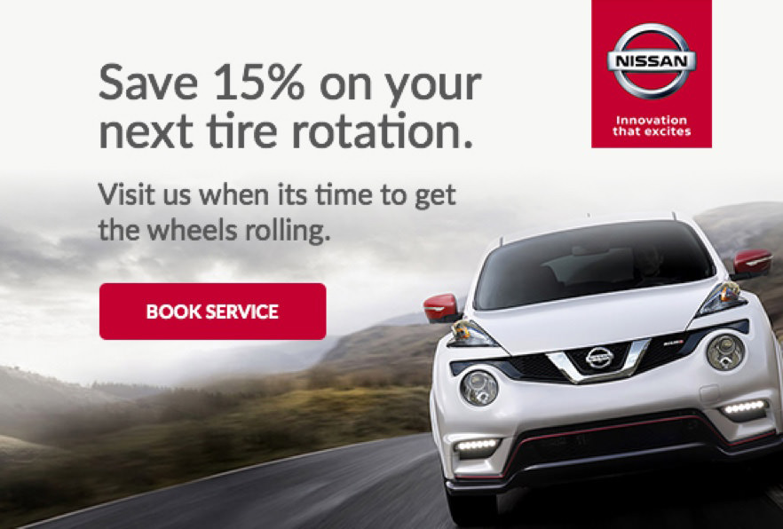 Nissan email with offers