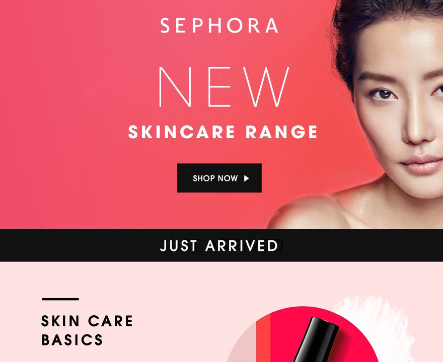 Marketing Automation - Sephora VIP Email