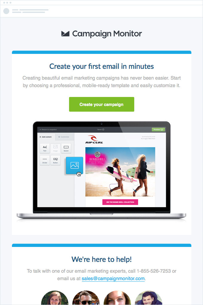 Campaign Monitor - Convert Prospects to Customers