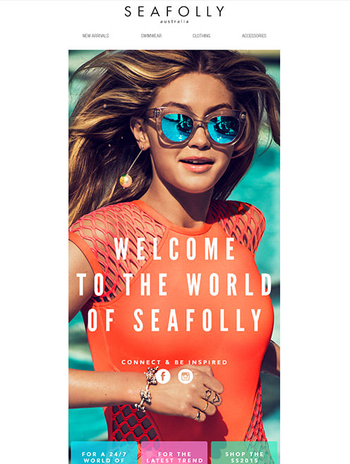 Seafolly Email Marketing