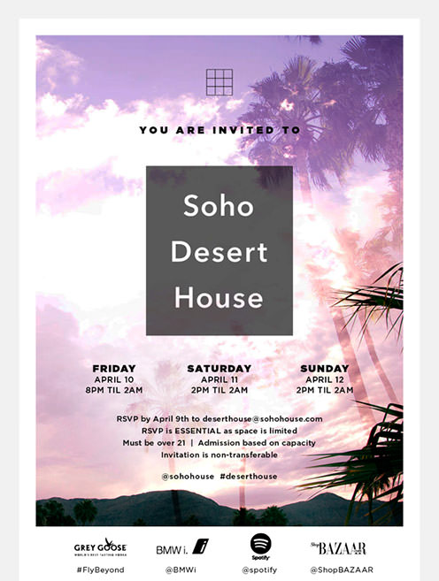 Soho House Email Marketing