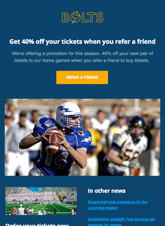 Email Template - Colts