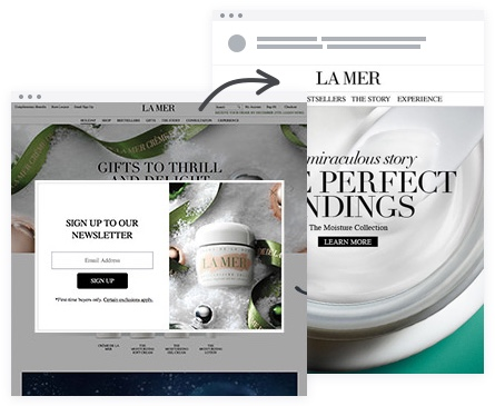 Email Marketing - La Mer Email Newsletter