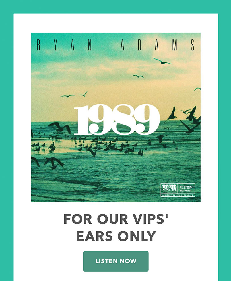 Email Marketing - Ryan Adams Promotion Email