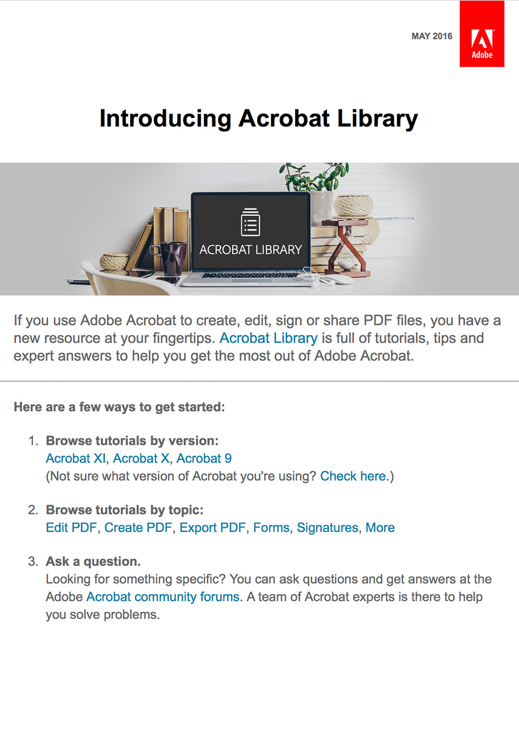 Technology Email Marketing - Adobe