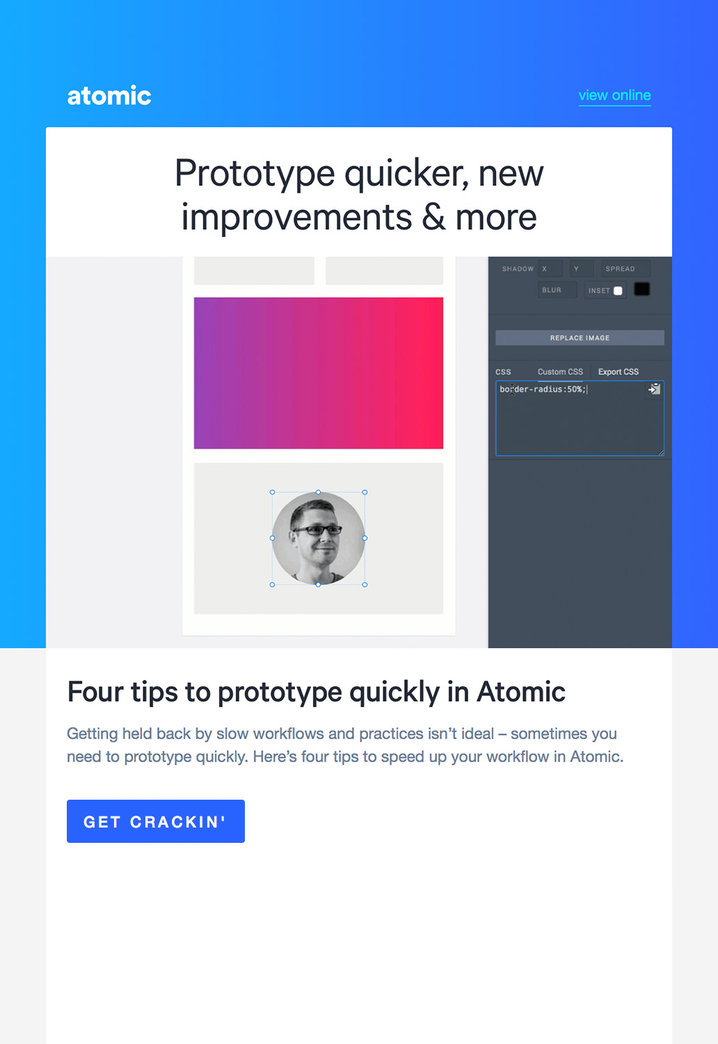 Technology Email Marketing - Atomic
