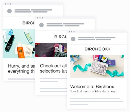Email Marketing - Birchbox Welcome Email