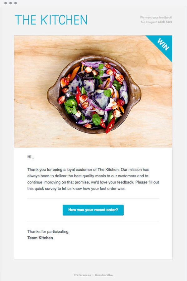 Email Marketing Template Example - 3